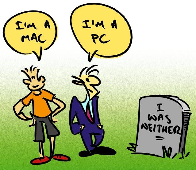 MacPC Cartoon