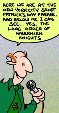 Hibernian Cartoon