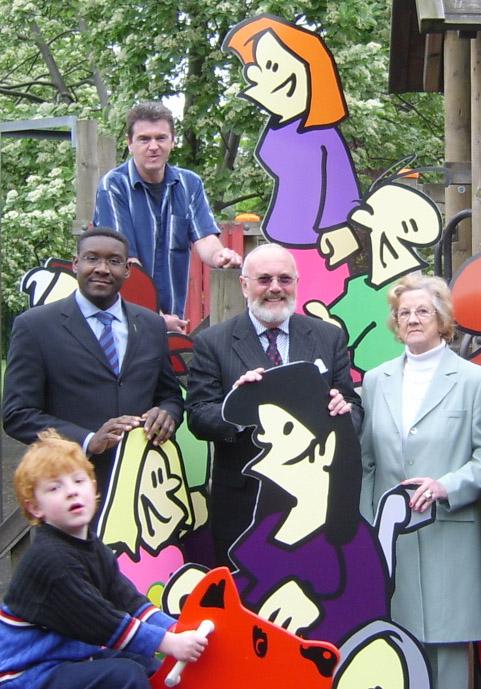 Senator Norris, Here Seen Fondling Some Of My Cartoon Characters