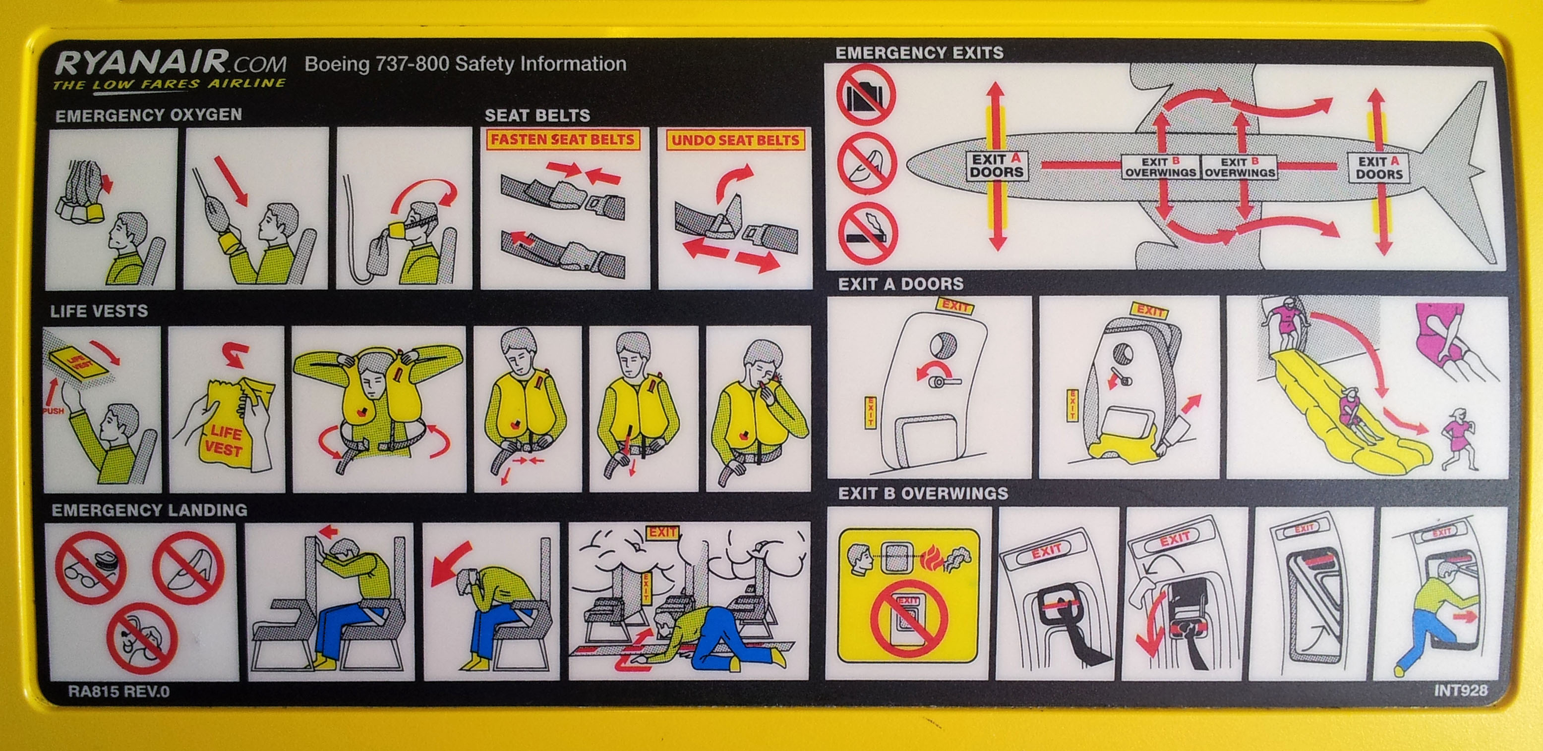 With little luggage for the journey, the Ryanair passenger has time to contemplate the many, many ways the have to die.